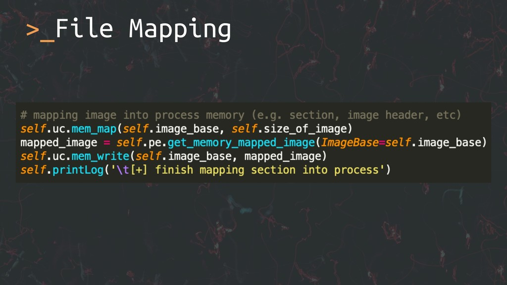>_File Mapping