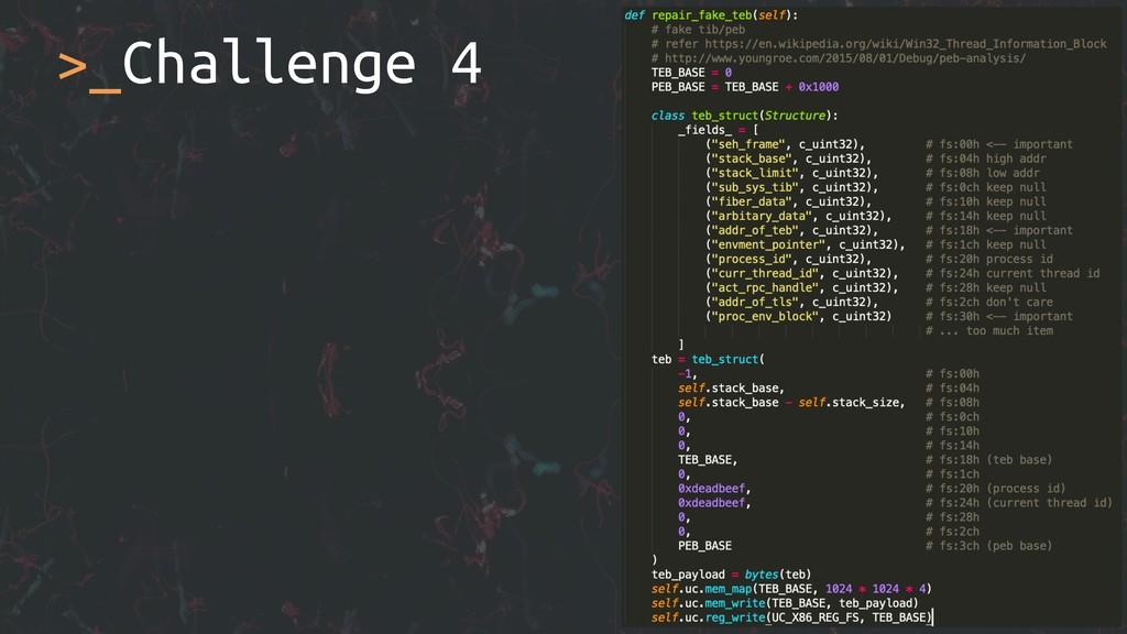 >_Challenge 4