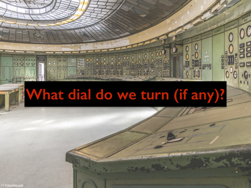What dial do we turn (if any)? CC0 pixabay.com