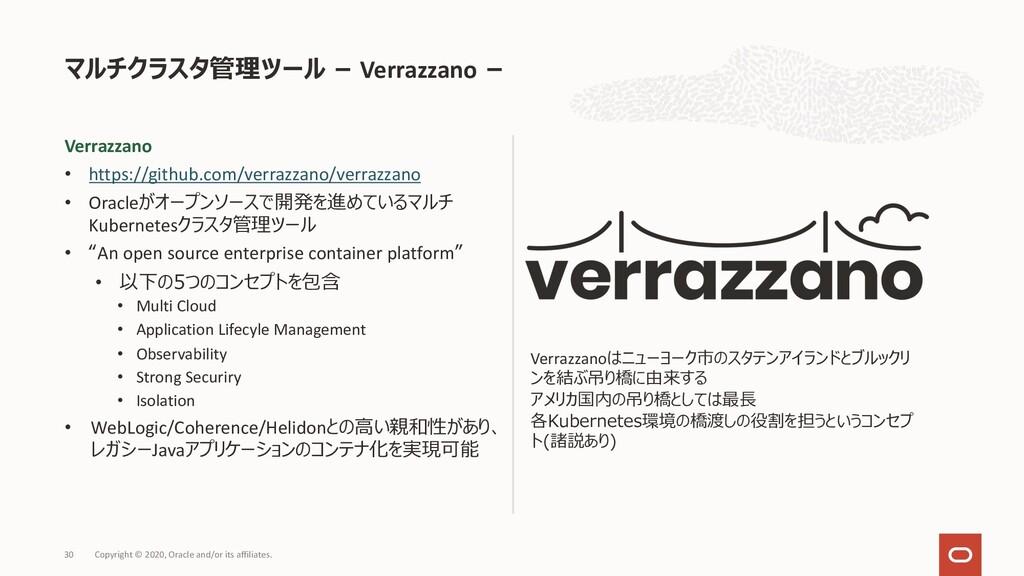 Verrazzano • https://github.com/verrazzano/verr...
