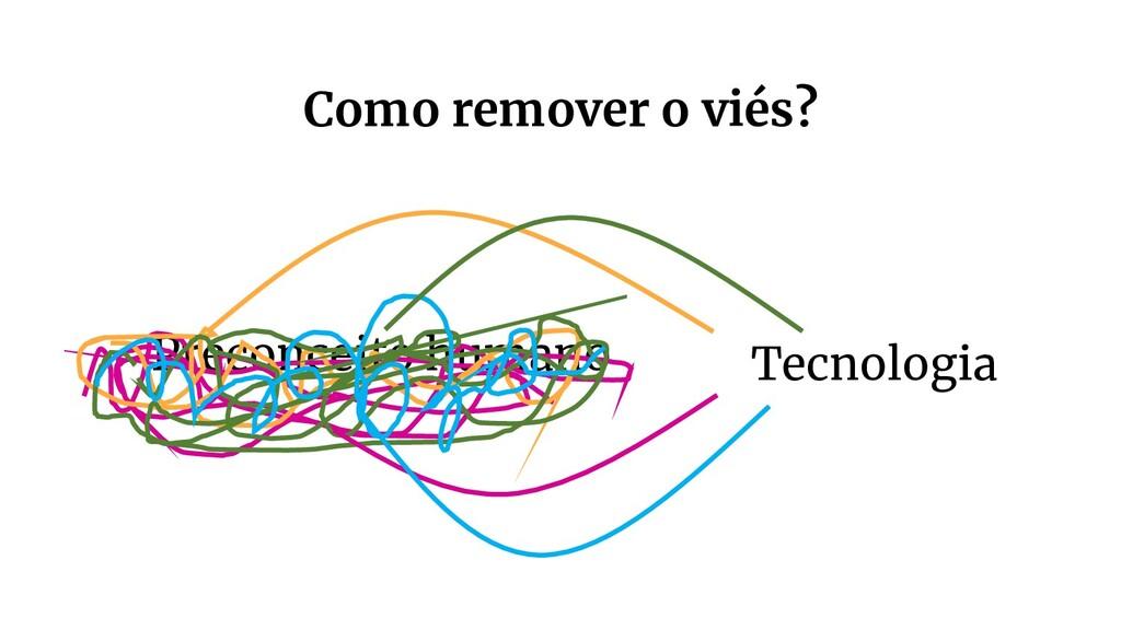 Preconceito humano Tecnologia Como remover o vi...