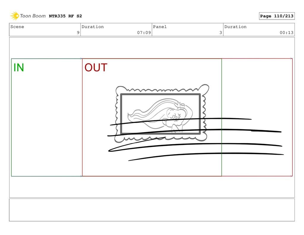 Scene 9 Duration 07:09 Panel 3 Duration 00:13 N...