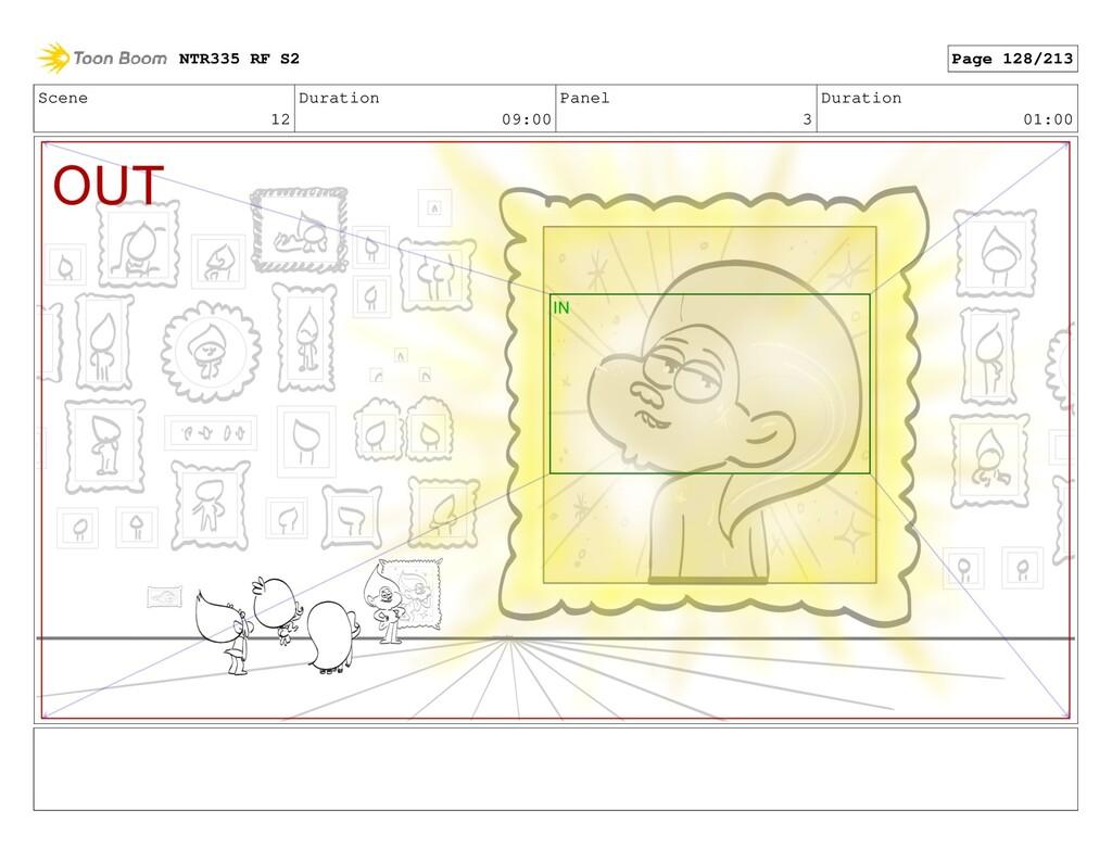 Scene 12 Duration 09:00 Panel 3 Duration 01:00 ...