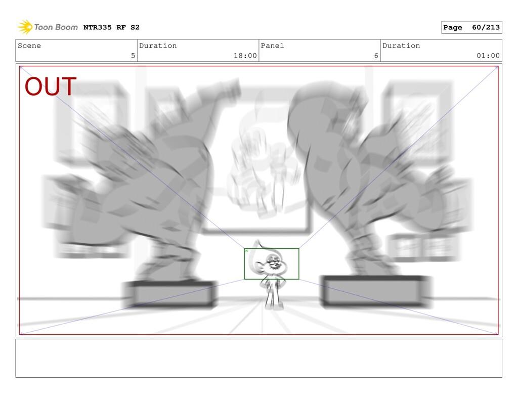 Scene 5 Duration 18:00 Panel 6 Duration 01:00 N...