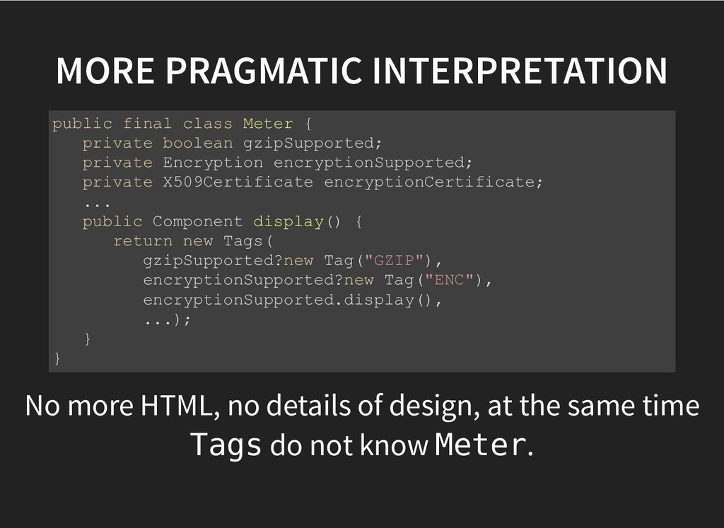 MORE PRAGMATIC INTERPRETATION MORE PRAGMATIC IN...