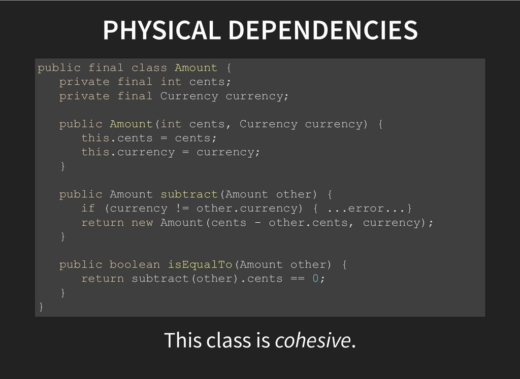 PHYSICAL DEPENDENCIES PHYSICAL DEPENDENCIES Thi...