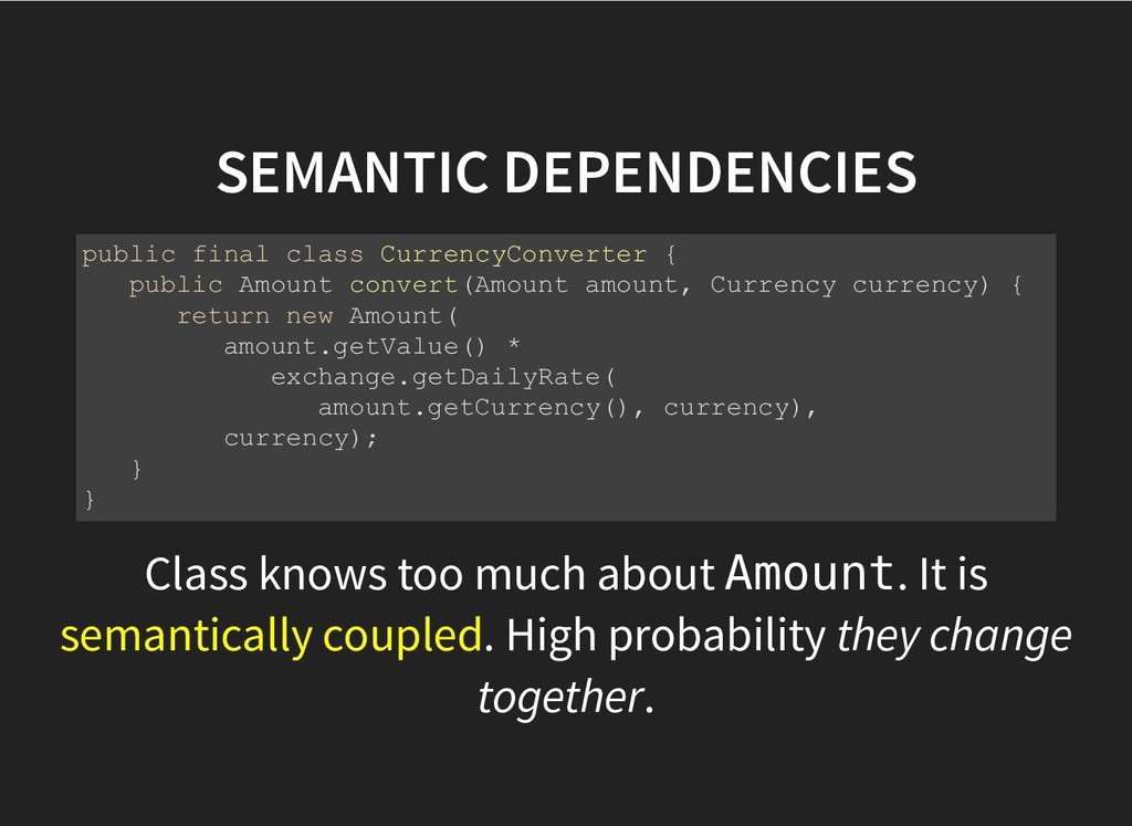 SEMANTIC DEPENDENCIES SEMANTIC DEPENDENCIES Cla...