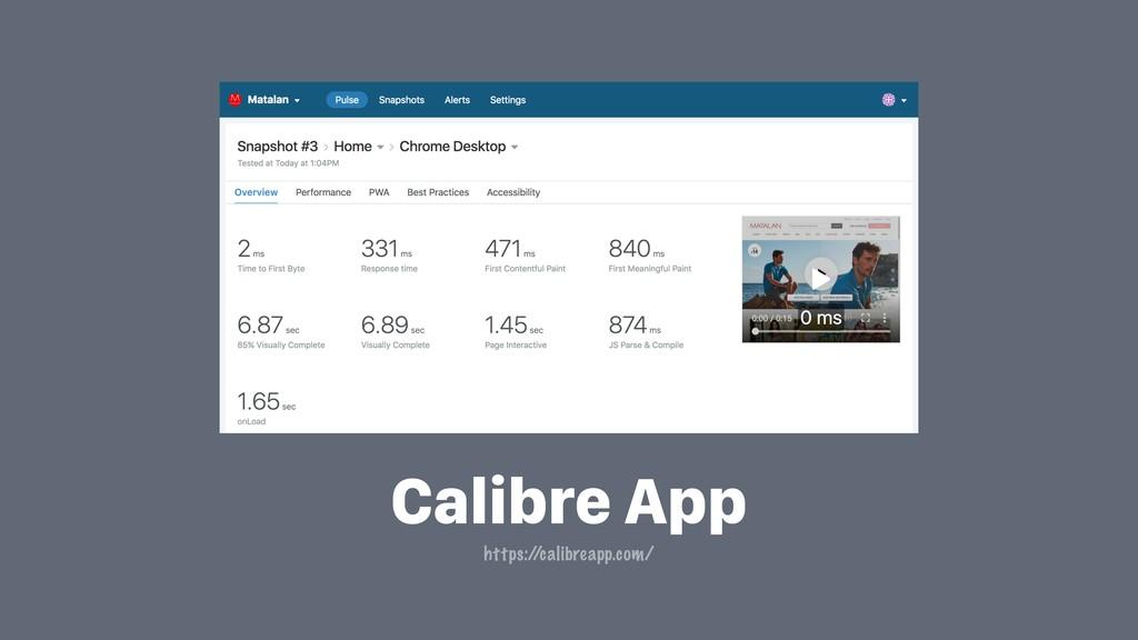 Calibre App https:/ /calibreapp.com/