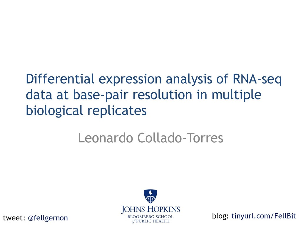 Differential expression analysis of RNA-seq dat...