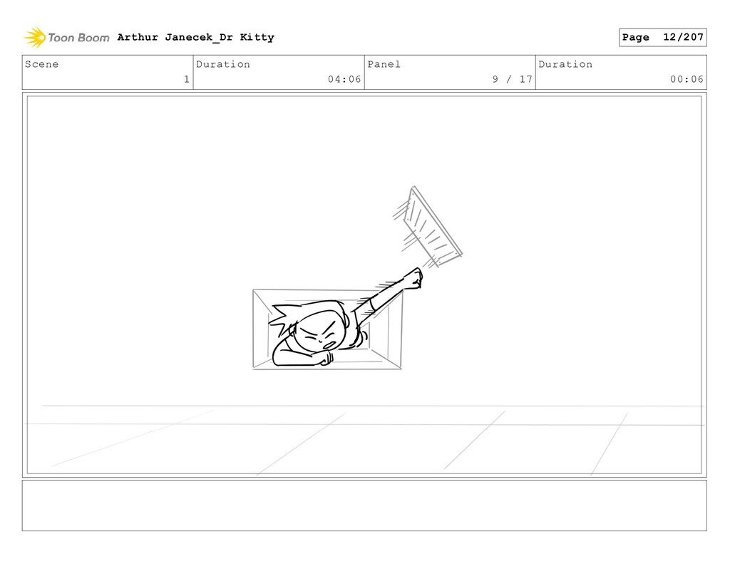 Scene 1 Duration 04:06 Panel 9 / 17 Duration 00...
