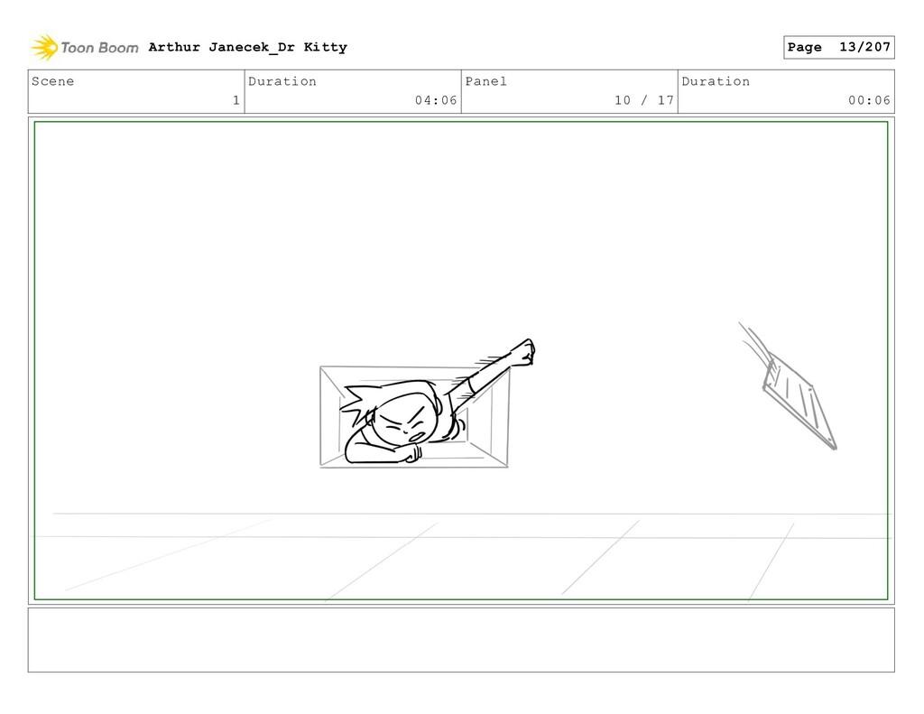 Scene 1 Duration 04:06 Panel 10 / 17 Duration 0...