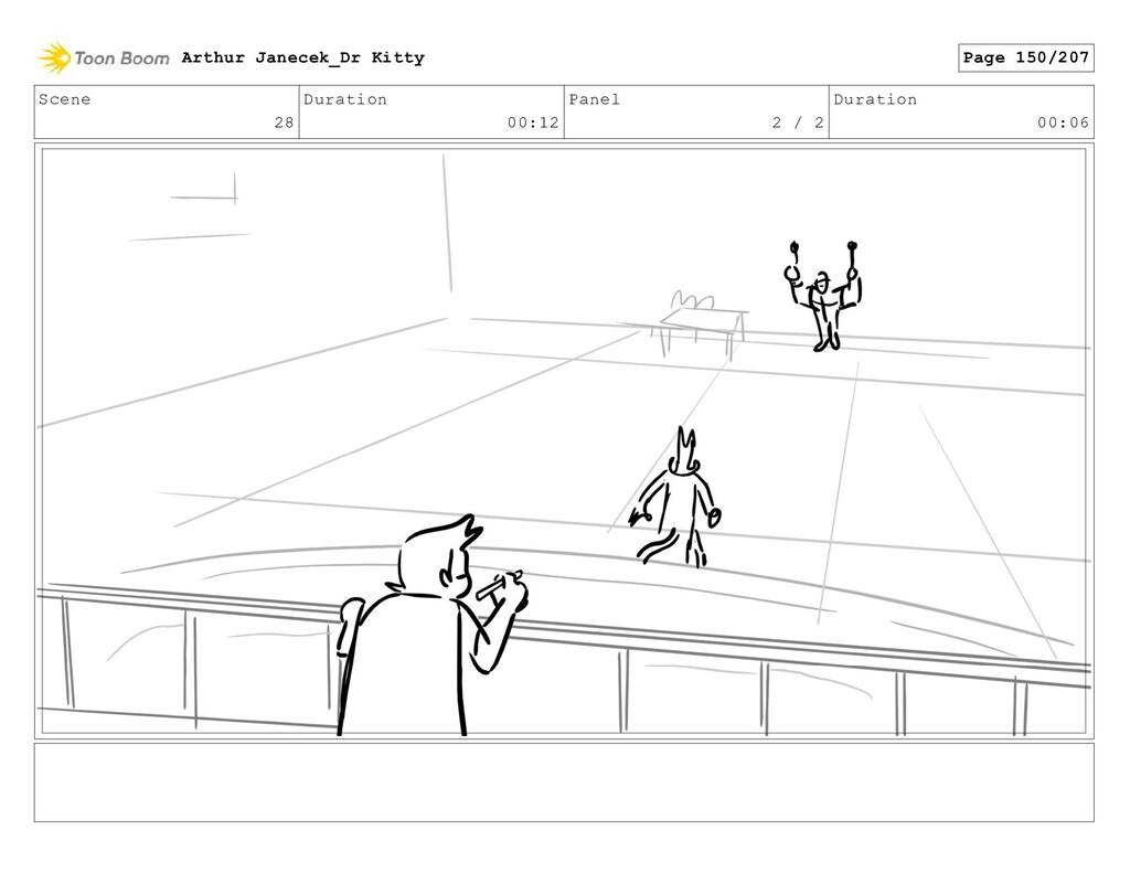 Scene 28 Duration 00:12 Panel 2 / 2 Duration 00...