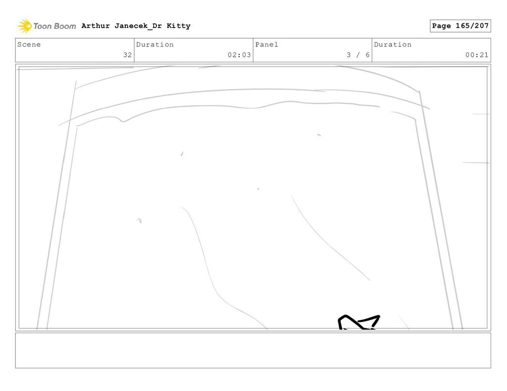 Scene 32 Duration 02:03 Panel 3 / 6 Duration 00...