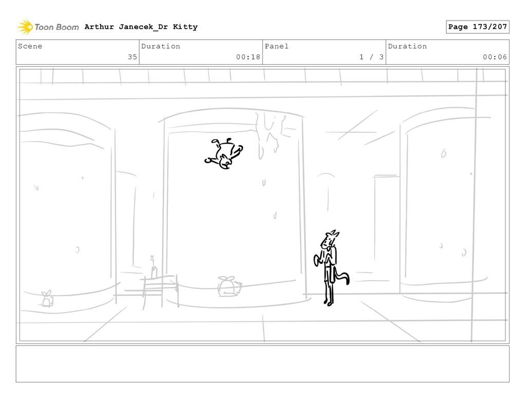 Scene 35 Duration 00:18 Panel 1 / 3 Duration 00...