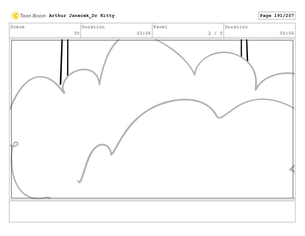 Scene 39 Duration 01:06 Panel 2 / 5 Duration 00...