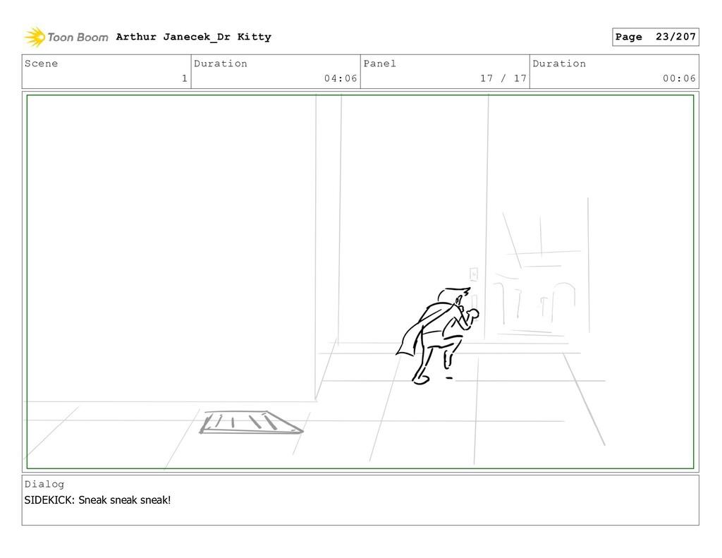 Scene 1 Duration 04:06 Panel 17 / 17 Duration 0...