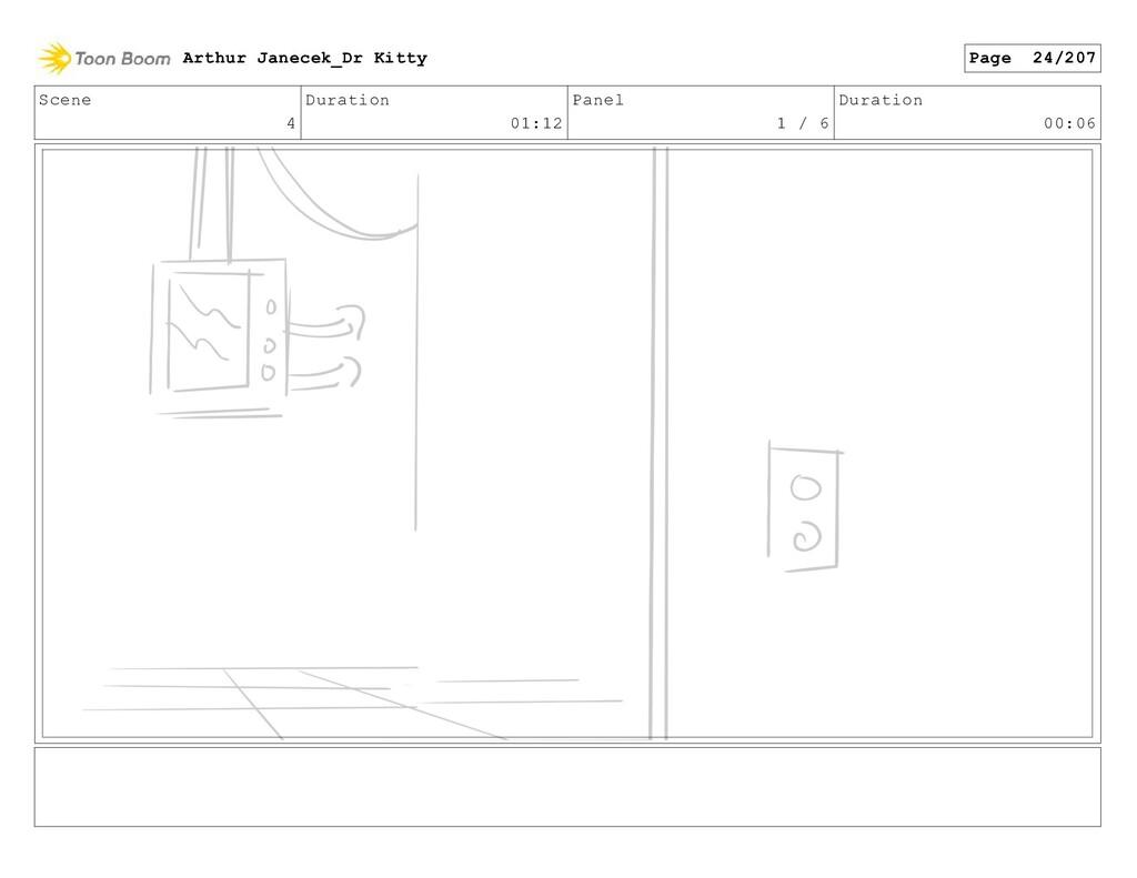 Scene 4 Duration 01:12 Panel 1 / 6 Duration 00:...