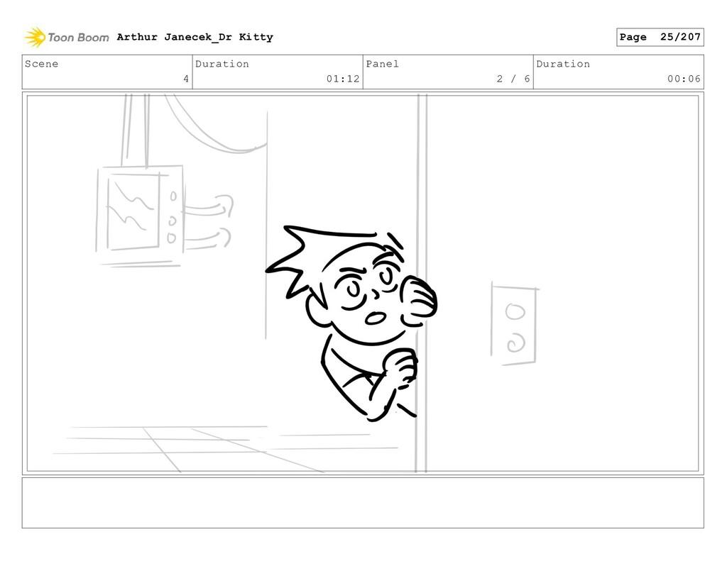 Scene 4 Duration 01:12 Panel 2 / 6 Duration 00:...