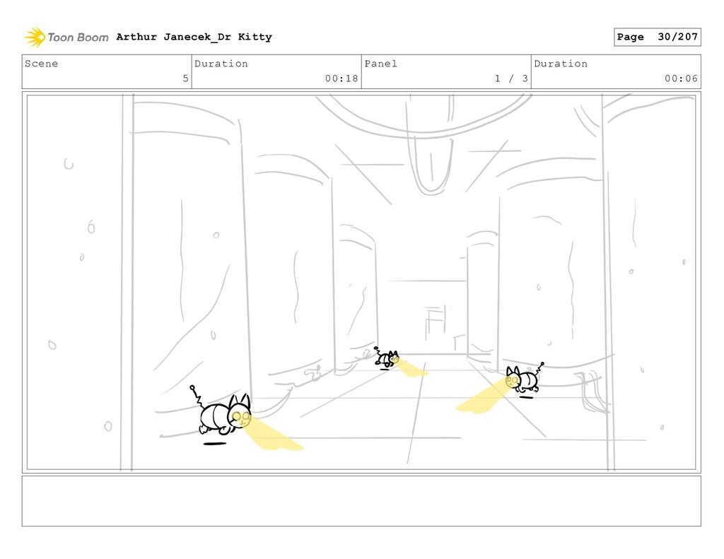 Scene 5 Duration 00:18 Panel 1 / 3 Duration 00:...