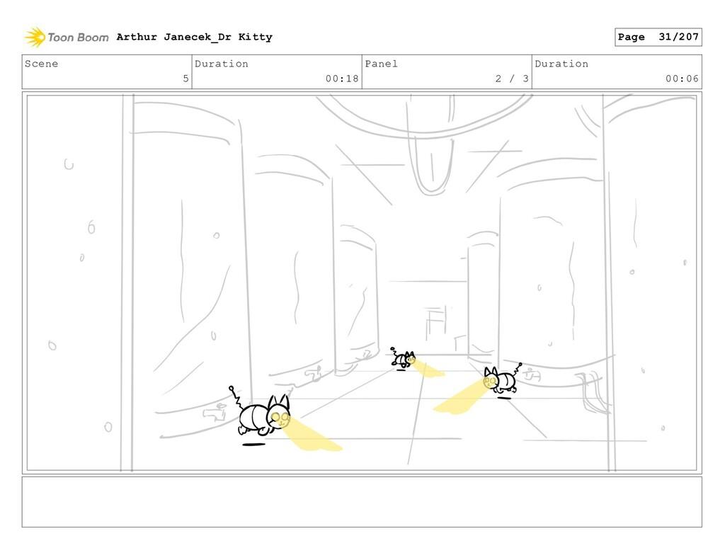 Scene 5 Duration 00:18 Panel 2 / 3 Duration 00:...