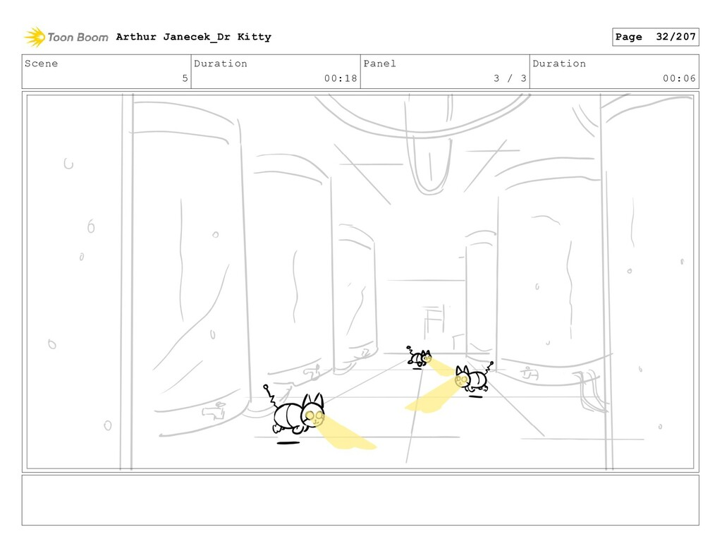 Scene 5 Duration 00:18 Panel 3 / 3 Duration 00:...