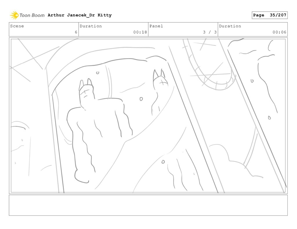 Scene 6 Duration 00:18 Panel 3 / 3 Duration 00:...