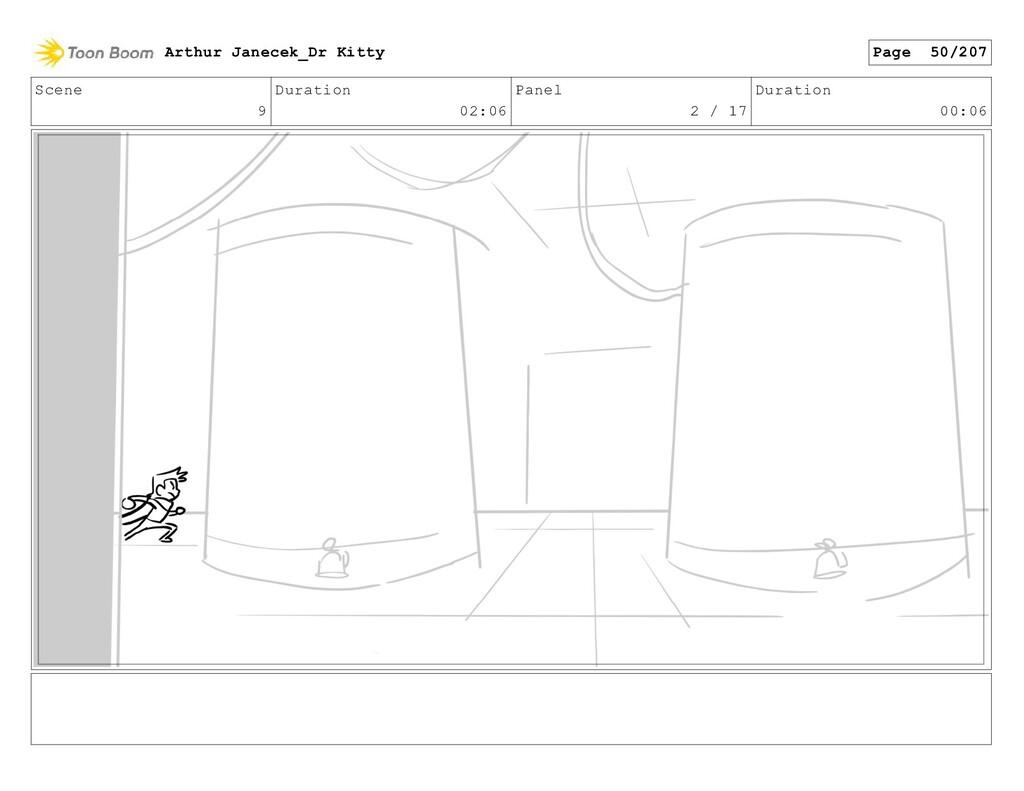 Scene 9 Duration 02:06 Panel 2 / 17 Duration 00...