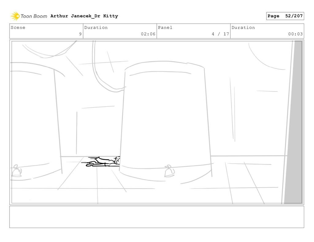 Scene 9 Duration 02:06 Panel 4 / 17 Duration 00...