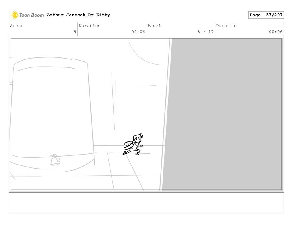 Scene 9 Duration 02:06 Panel 8 / 17 Duration 00...