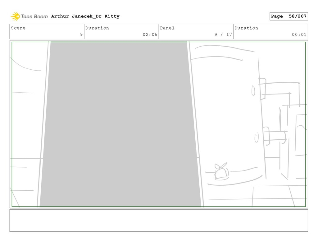 Scene 9 Duration 02:06 Panel 9 / 17 Duration 00...