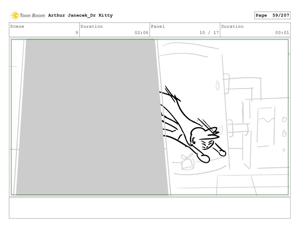 Scene 9 Duration 02:06 Panel 10 / 17 Duration 0...