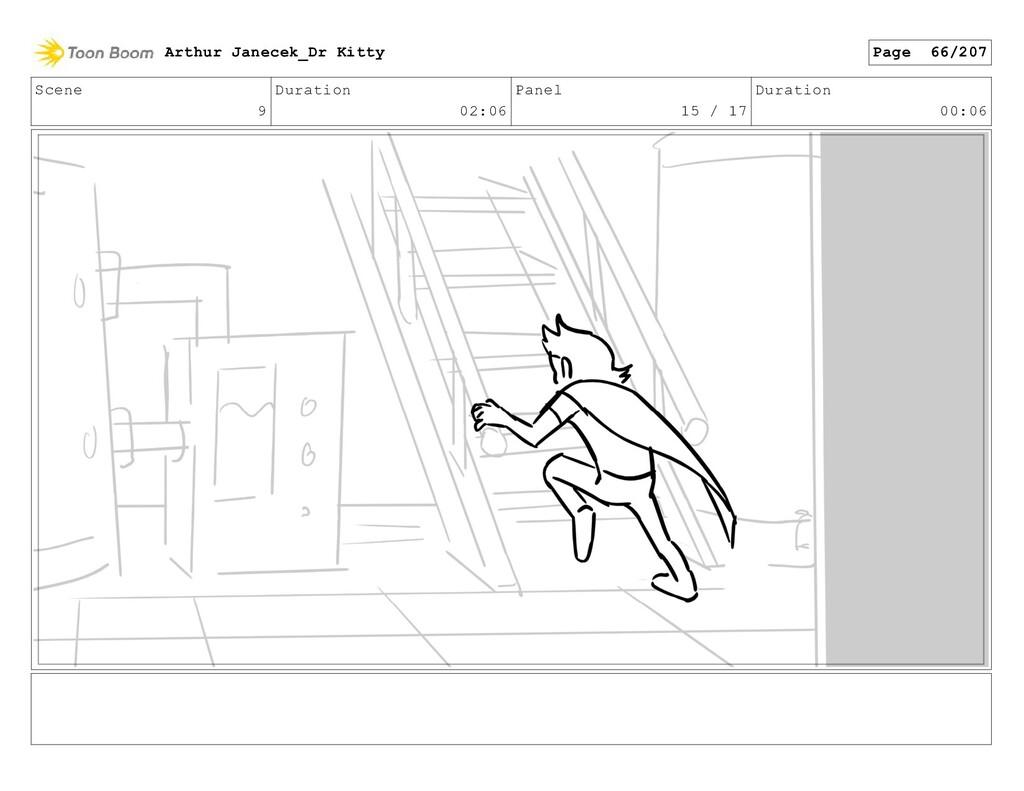 Scene 9 Duration 02:06 Panel 15 / 17 Duration 0...