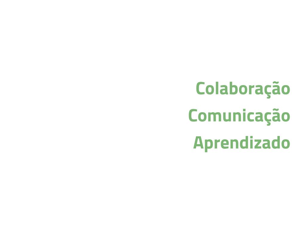 Colaboração Comunicação Aprendizado