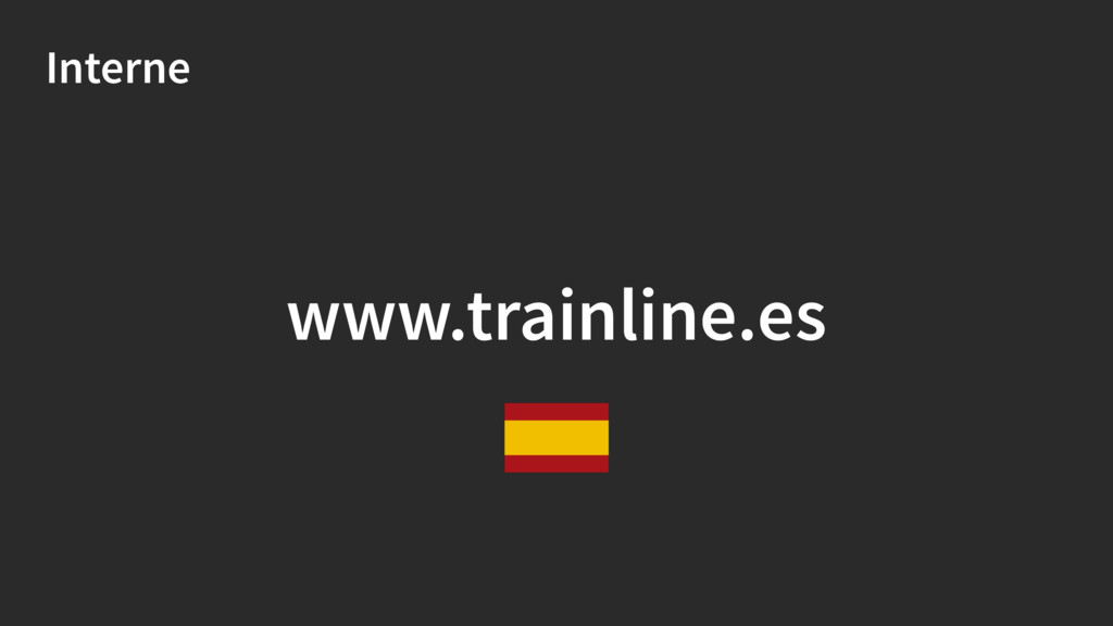 Interne www.trainline.es
