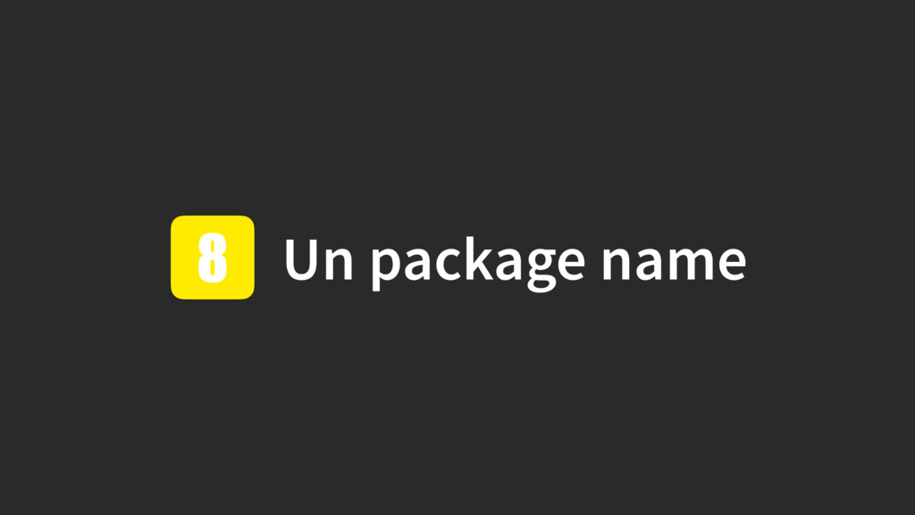 Un package name 8
