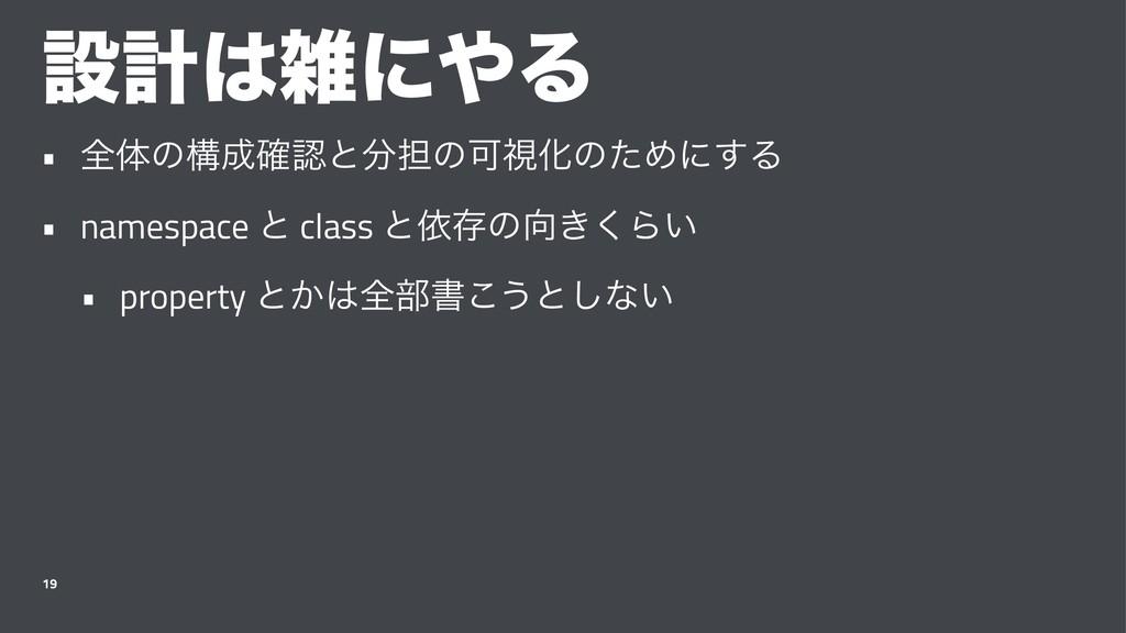 ઃܭʹΔ • શମͷߏ֬ͱ୲ͷՄࢹԽͷͨΊʹ͢Δ • namespace ͱ cl...