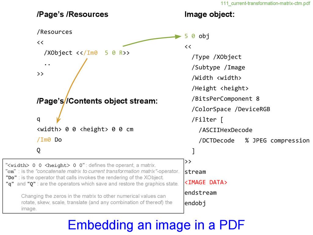 Image object: 5 0 obj << /Type /XObject /Subtyp...