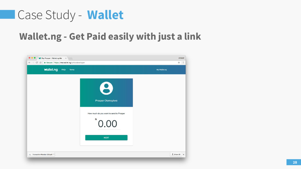 Case Study - Wallet 28 Wallet.ng - Get Paid eas...