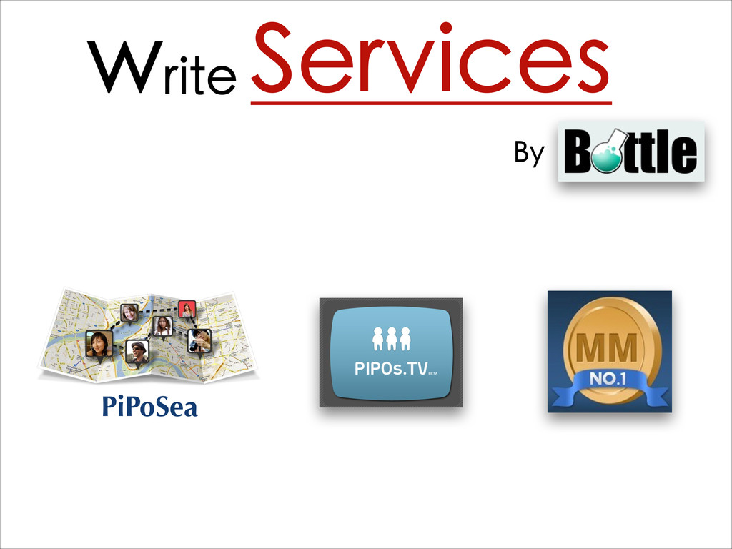 write Services By Bottle PiPoSea