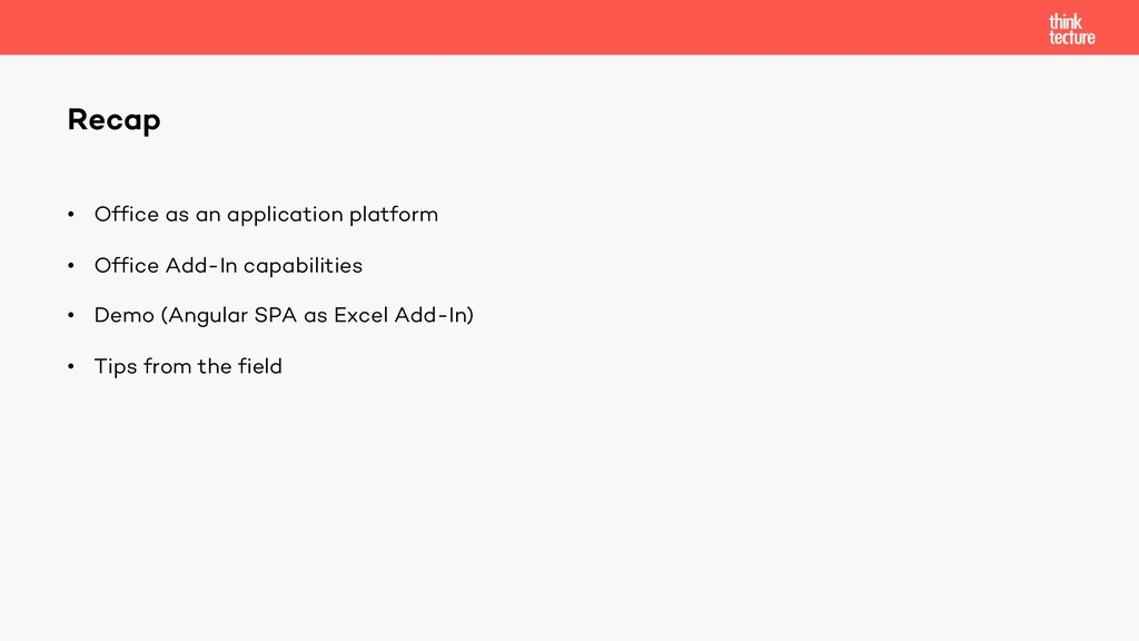 • Office as an application platform • Office Ad...