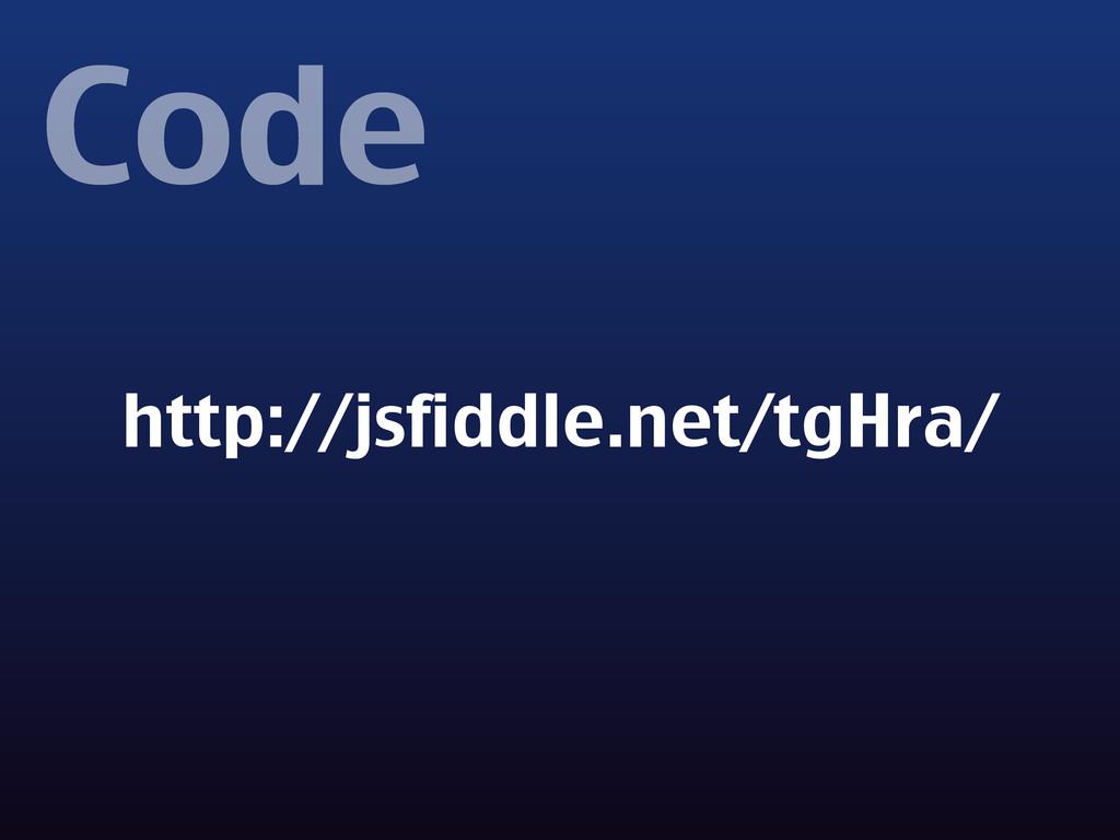 Code http://jsfiddle.net/tgHra/