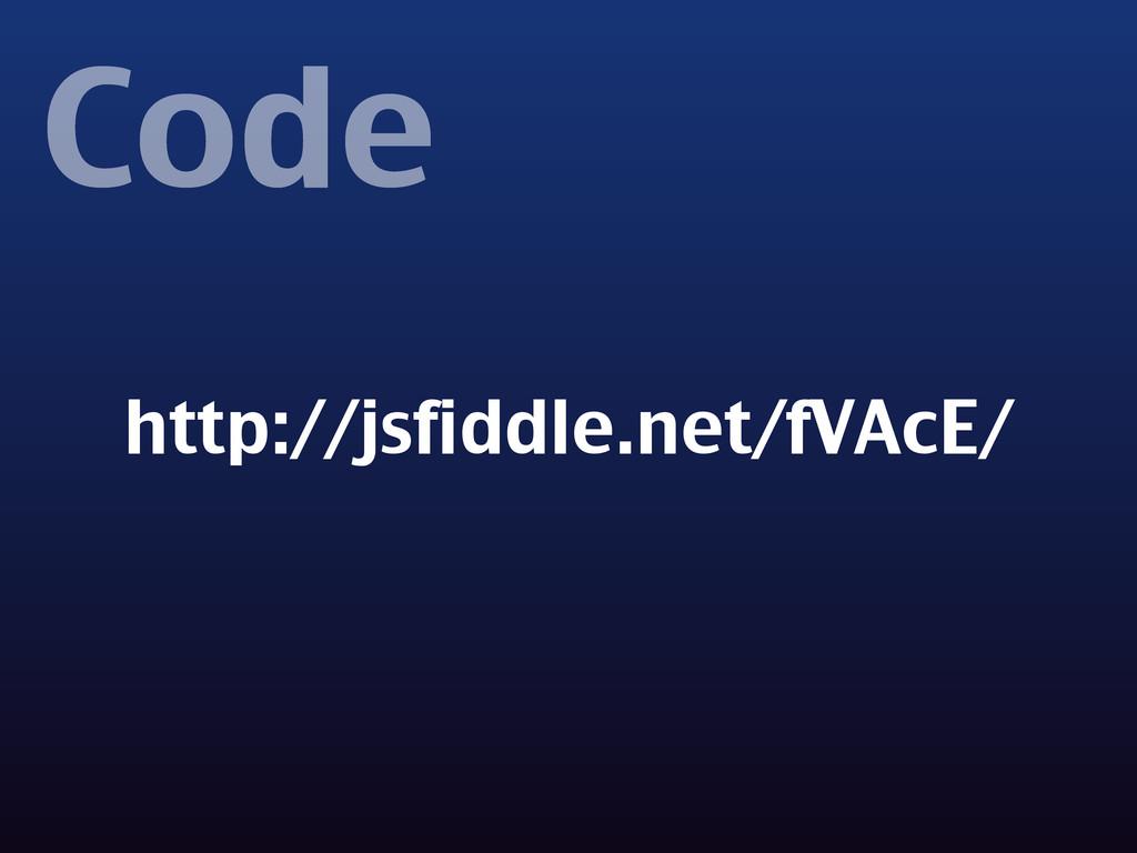 Code http://jsfiddle.net/fVAcE/
