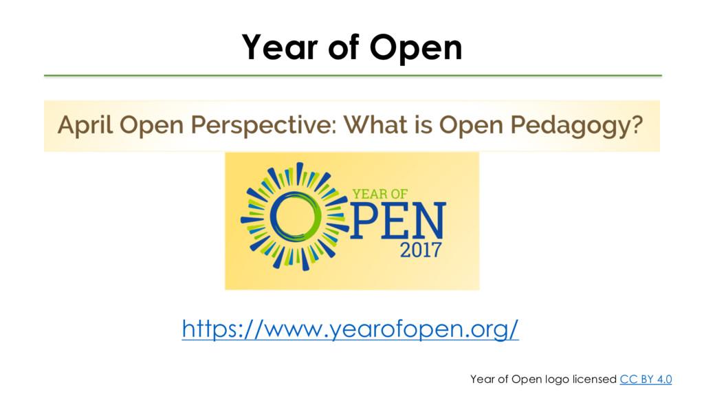 Year of Open https://www.yearofopen.org/ Year o...