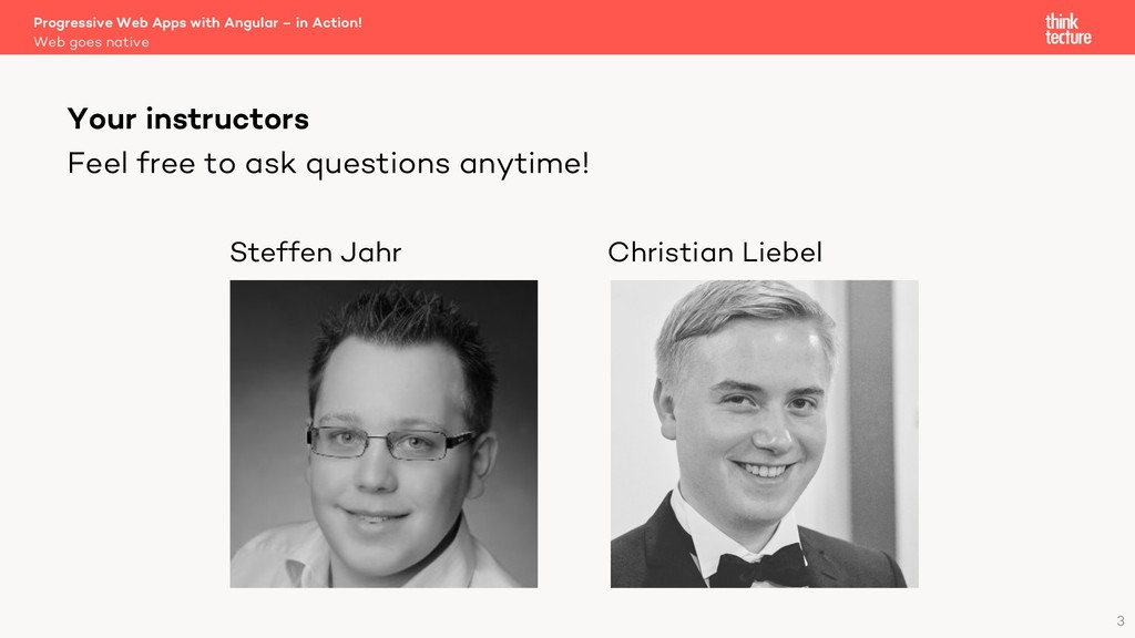 Feel free to ask questions anytime! Steffen Jah...