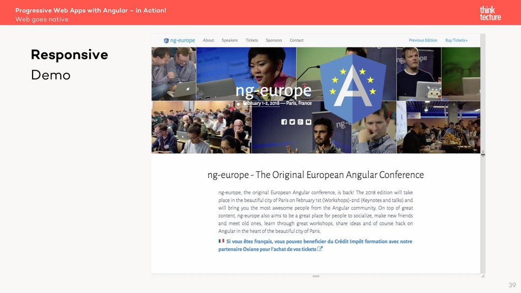 Progressive Web Apps with Angular – in Action! ...