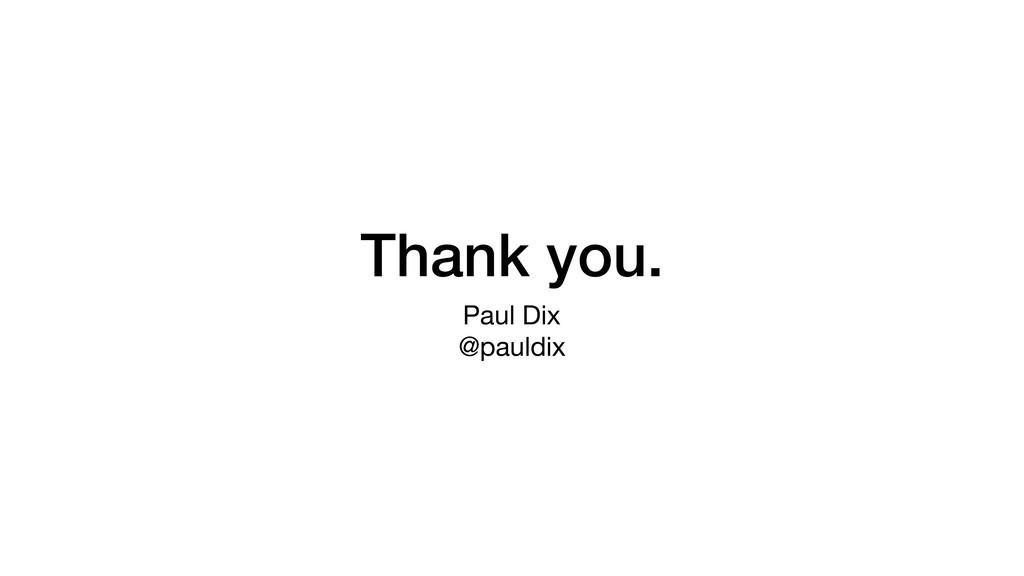 Thank you. Paul Dix  @pauldix