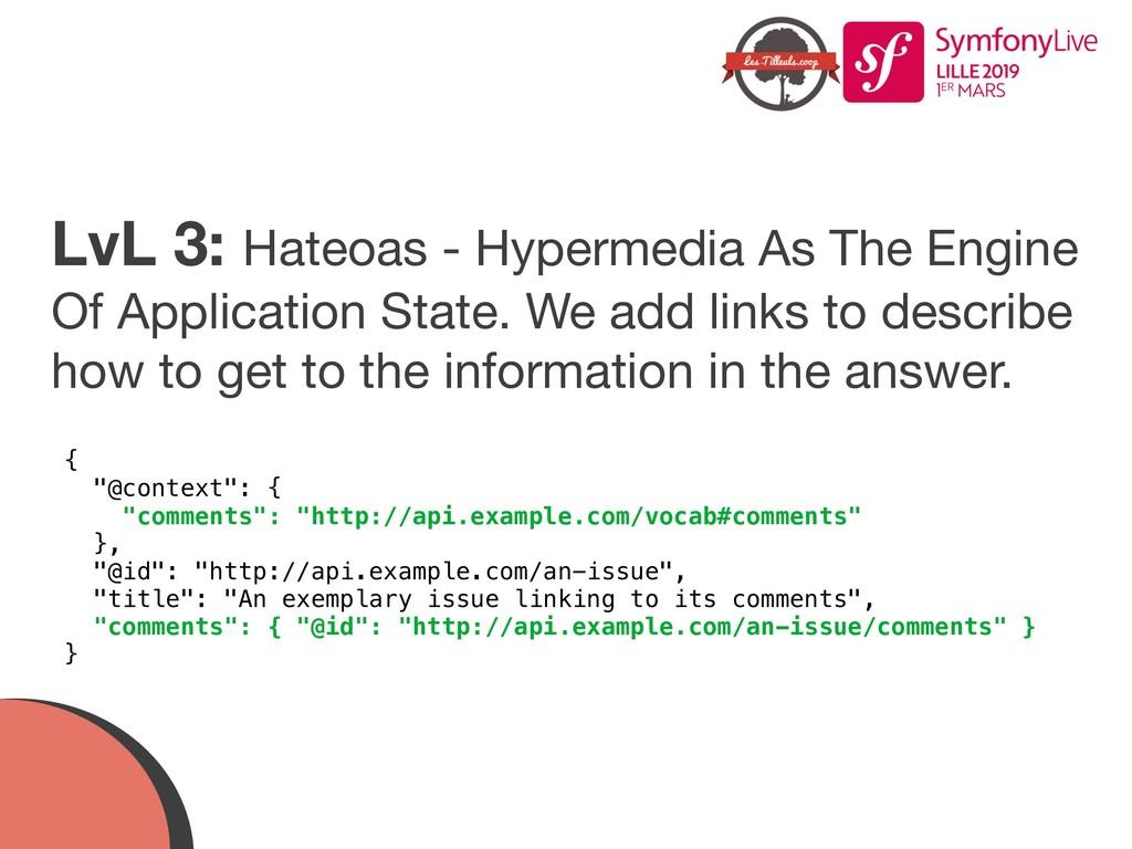 LvL 3: Hateoas - Hypermedia As The Engine Of Ap...