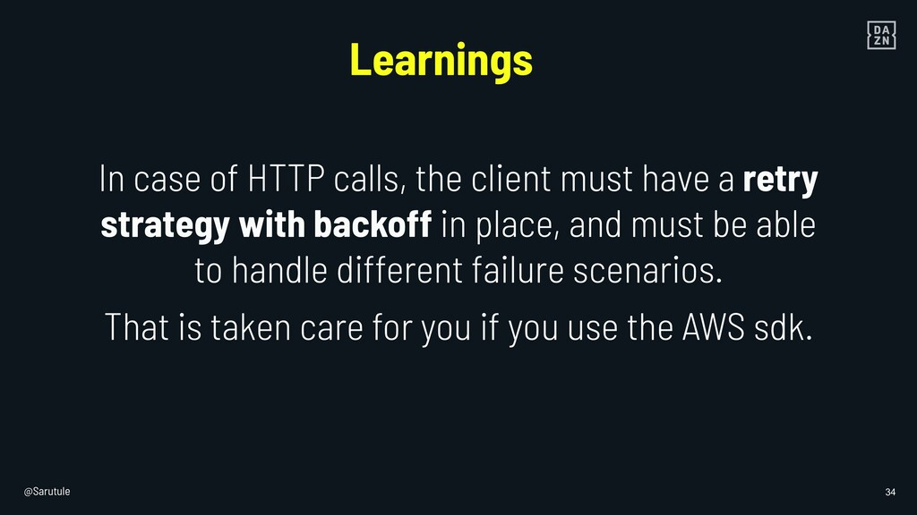 @Sarutule 34 In case of HTTP calls, the client ...