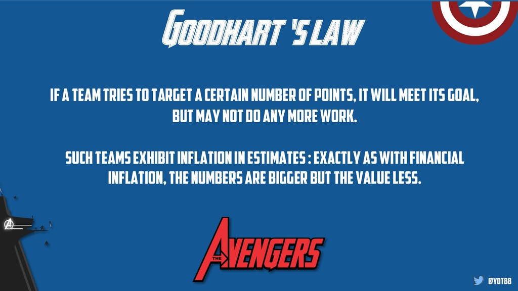 @yot88 Goodhart 's law if a team tries to targe...