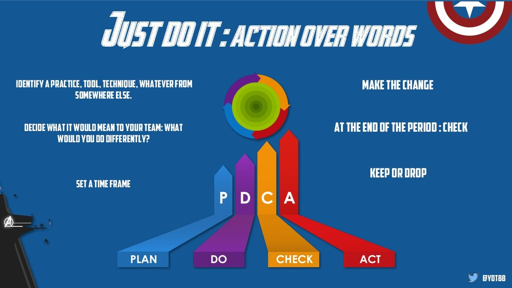 @yot88 Just do it : action over words Keep or d...